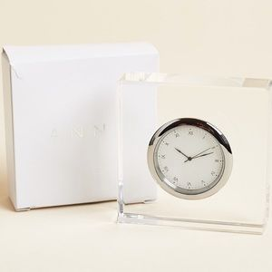 Lucite Clock - Popsugar Must Have